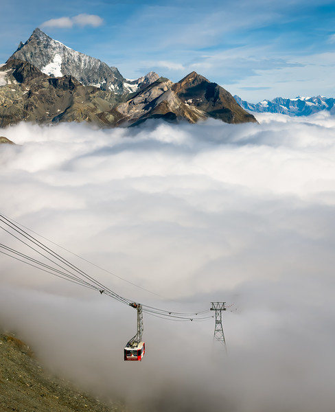 A Ride Above The Clouds
