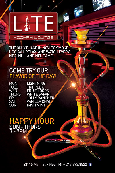 Lite Hookah Lounge June 2016
