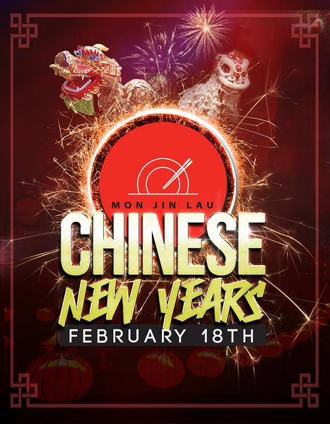Mon Jin Lau - Cinese New Year 2015