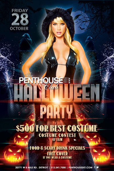 Penthouse October 2016