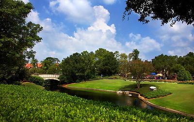 The Disney World, the Magic Kingdom. Orlando, Florida.