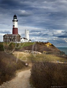 Montauk Point Lighthouse, Montauk, Long Island, NY.