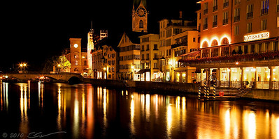 Zurich at night...