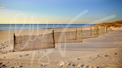 A new day breaks at Coopers Beach in Southampton, NY.