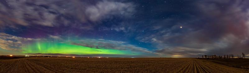 Aurora and Mars