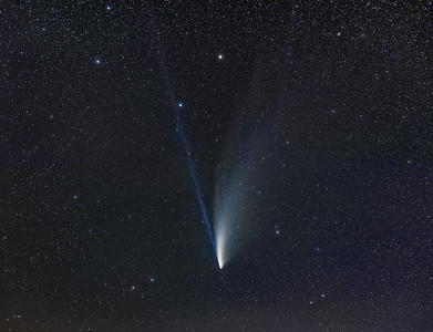 Comet NEOWISE Below the Dipper Bowl (July 20, 2020)