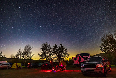 Alberta Star Party 2021 - Observer at SCT