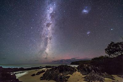 Southern Stars Rising at Cape Conran