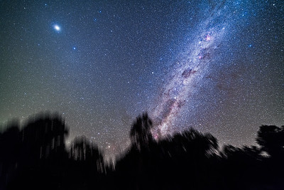 Jupiter, Gegenschein and the Southern Milky Way
