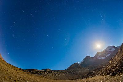 Andromeda over Mt. Andromeda (Sept 6, 2014)