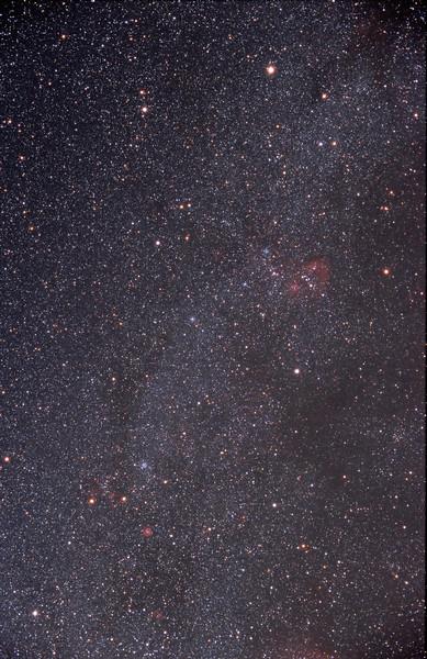 Auriga and Gemini area (E200 Film)