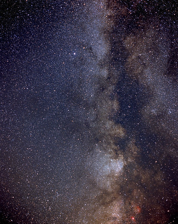 Milky Way in Aquila-Scutum