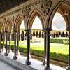 Claustro da Abadia do Monte St. Michel