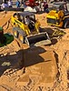 Earthmoving construction: Solideal rubber tracks fit on John Deere and JCB wheeled skid steer loaders. CONEXPO, Las Vegas, Nevada, March 15-19, 2005.