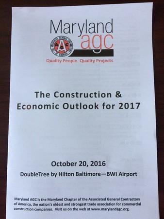 Construction & Economic Outlook 2017
