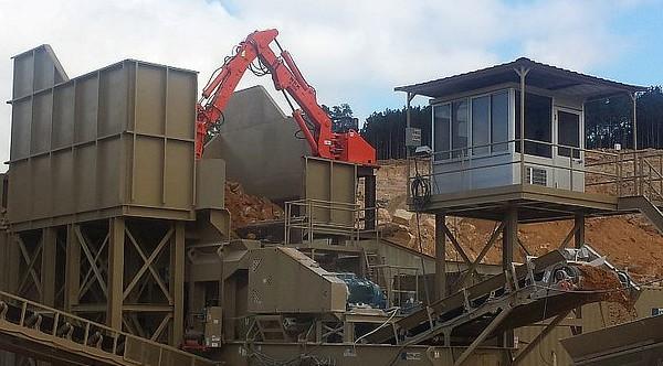 hydraulic pedestal boom