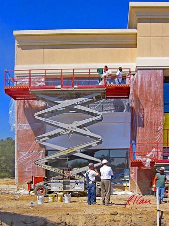 Construction Support: scaffold, elevated work platform
