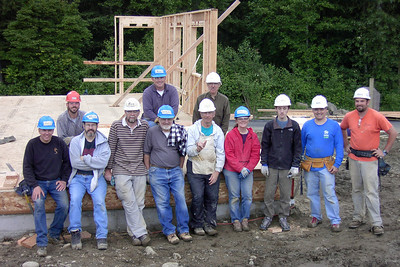 "6/5/2008 Snoqualmie Ridge- ""Our House"" Build Day"