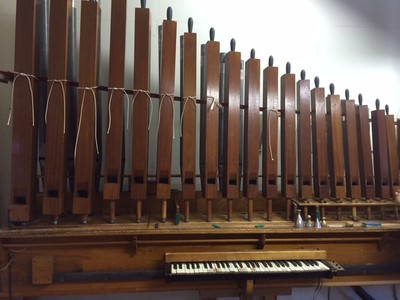 Organ under Construction
