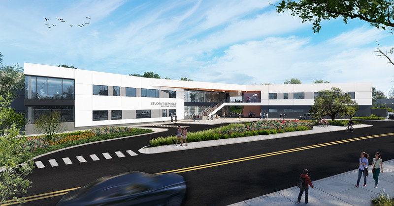 Preliminary Construction Activities Underway for New Student Services Building