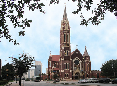 Cathedral Shrine of the Virgin of Guadalupe - 2215 Ross Avenue at Pearl, Dallas 75201
