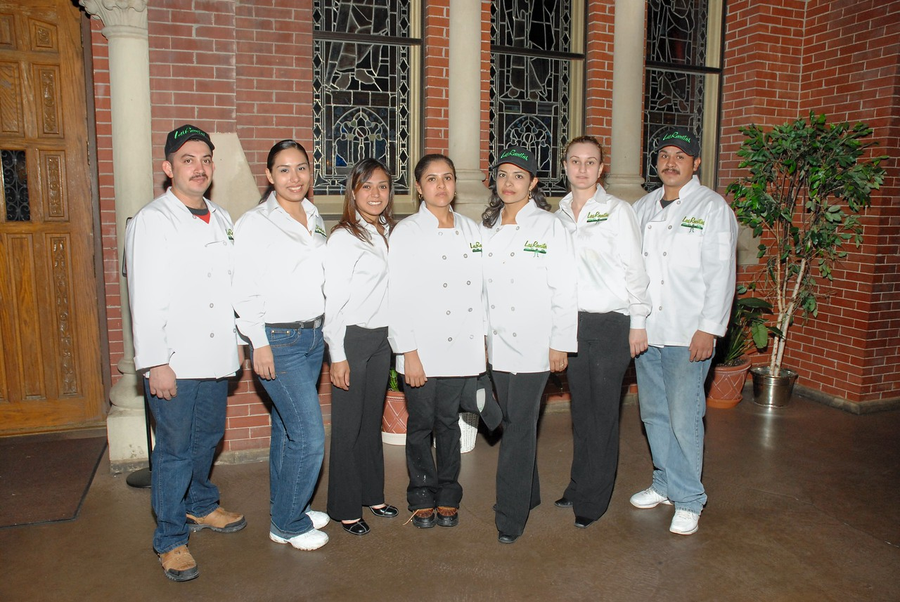 Thank You - The Catering Sfaff of Las Ranitas