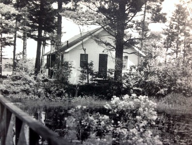 Newly built cabin #103, spring 1947