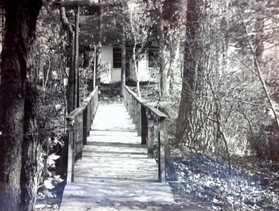 Bridge on island, 1947