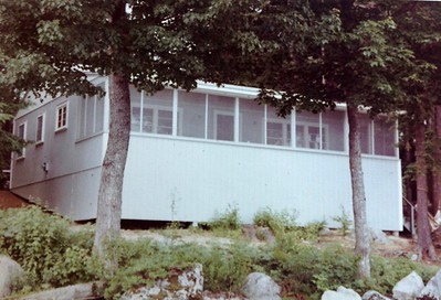 Joanna's newly reconstructed cabin #5, 1966