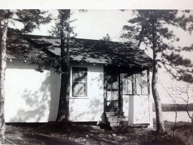 Newly built cabin #102, 1946