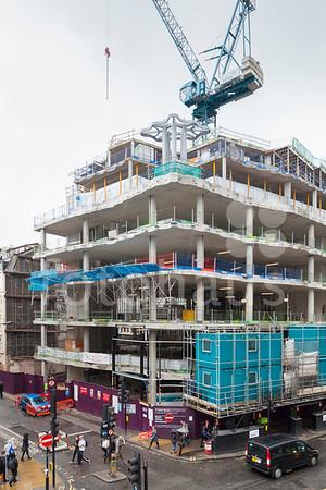 61 Oxford Street - progress photos