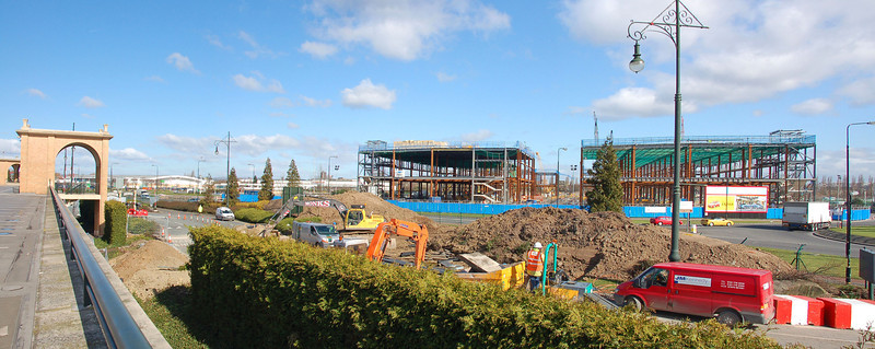 Barton Square under construction - March 2007
