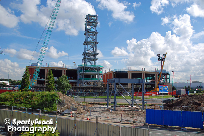 Barton Square under construction - July 2007