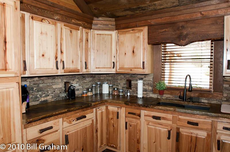 Kitchen front elevation.