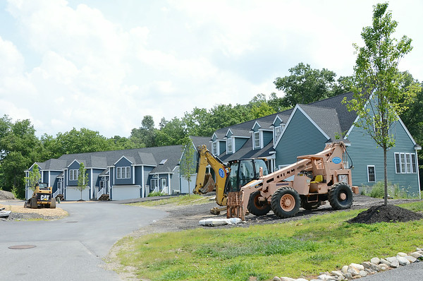 Construction zone on Route 13 in Lunenburg