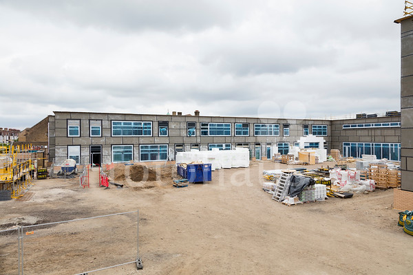 Eastbury School, Barking - progress photos