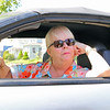 Road work is going on all over the City of Fitchburg. Pat Lambert talks about the road work around the city as she sits in her car in her parents driveway on Hancock Street near the road work on Summer Street. SENTINEL & ENTERPRISE/JOHN LOVE