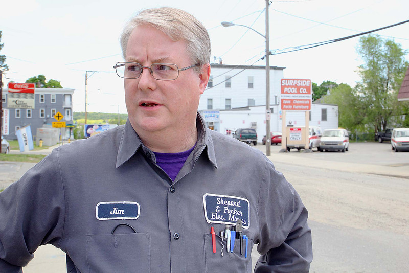 Road work is going on all over the City of Fitchburg. Jim Parker owner of Shepard & Parker Electric Motors on Lincoln Street in Fitchburg talks about the Road work around the city and how it is effecting his business. SENTINEL & ENTERPRISE/JOHN LOVE