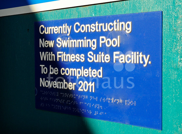 Harborne Pool - progress photos
