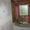 More drywall in the bathroom.