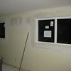 Windows in the family room.