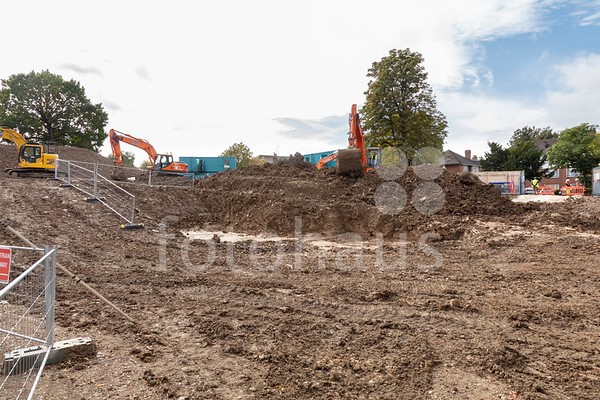 Knowles House, Brent - ground-breaking ceremony