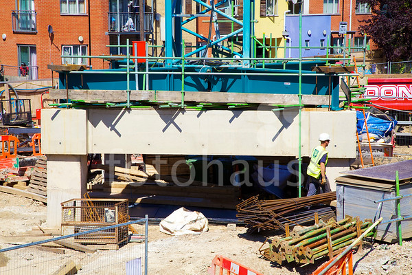 Metropolitan Police Authority Wood Green Custody Centre - progress photos