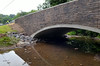 The North Rockhill  Road  bridge in East Rockhill Township spanning Three Mile Run.   Friday, August 1, 2014.   Photo by Geoff Patton