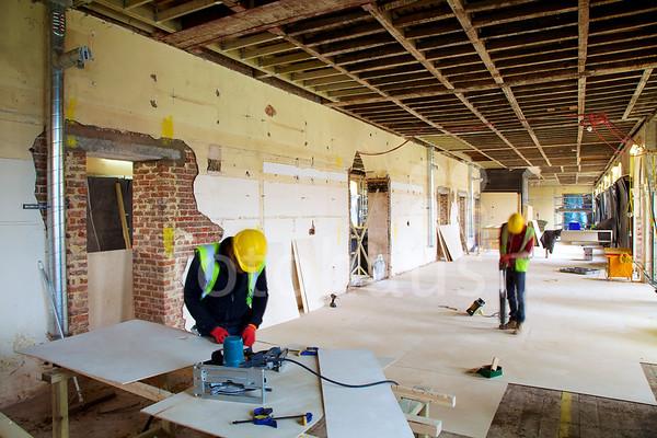 Royal Chelsea Hospital, Long Wards - progress photos