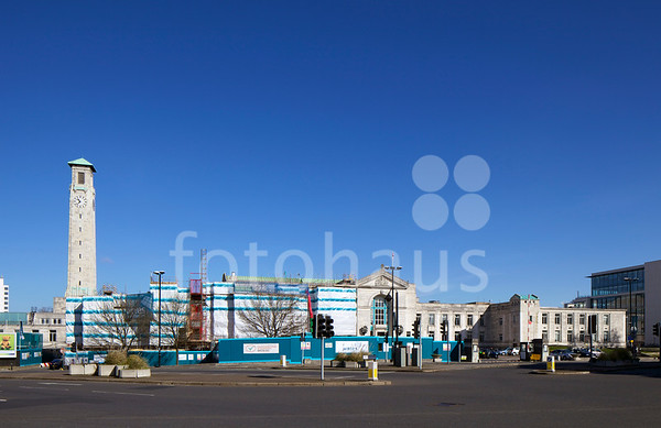 Southampton Civic Centre - progress photos