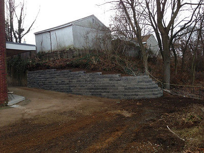 St Paul's Retaining Wall