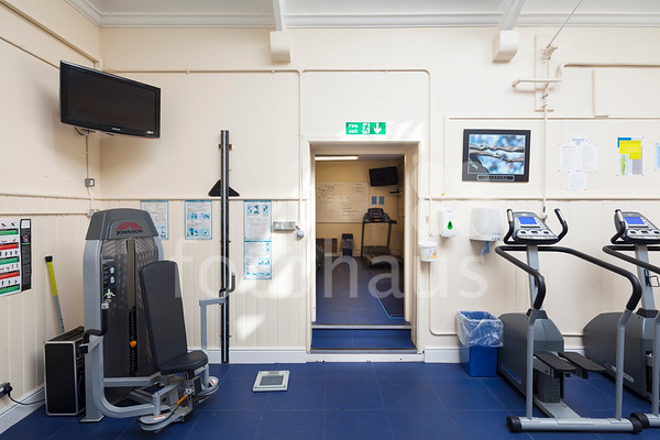 The Old Gym, Marlborough College - before shots