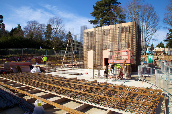 University of Southampton Boldrewood Campus Redevelopment - progress photos