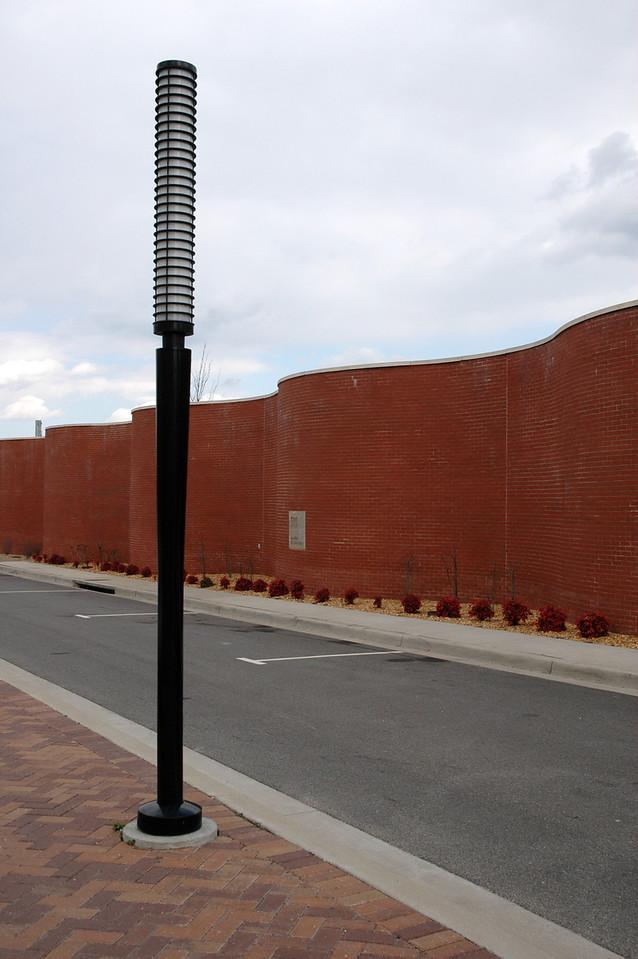 Undulating Brick wall in Richmond, VA